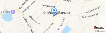 Почтовое отделение №47 на карте Барнаула