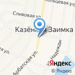 Участковый пункт полиции Отдела полиции №8 УВД по г. Барнаулу на карте Барнаула