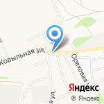 Генио на карте Барнаула