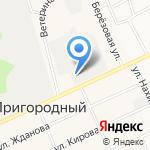 Лесные дали на карте Барнаула