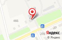 Схема проезда до компании АлтайТехАс в Барнауле