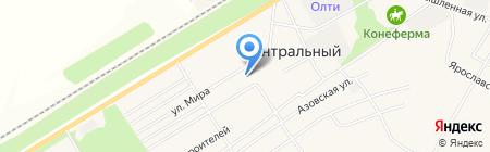 Дом культуры Центральный на карте Барнаула