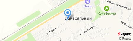 Средняя общеобразовательная школа №91 на карте Барнаула