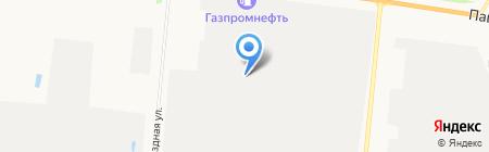 МОПС на карте Барнаула