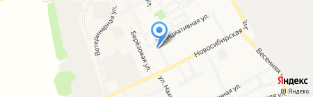 Ветеринарная клиника доктора Латкина на карте Барнаула