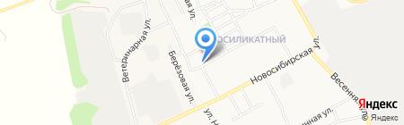 Авто-Макс на карте Барнаула