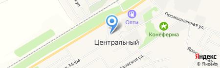 Центральная сельская Администрация на карте Барнаула