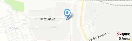 Автоцентр ЗИЛ на карте Барнаула