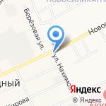 КЛЁВЫЙ на карте Барнаула