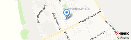 Лавр на карте Барнаула