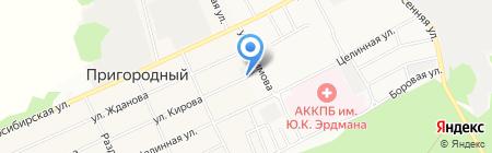 СТС Маркет на карте Барнаула