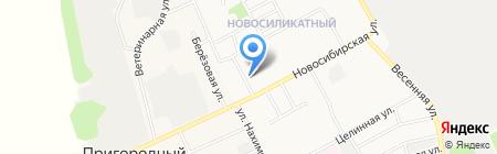 Мастерская по ремонту радиоаппаратуры на карте Барнаула