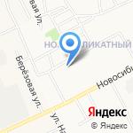 Скорая медицинская помощь на карте Барнаула