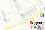 Схема проезда до компании ДНС в Барнауле