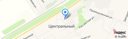 Коммунальщик на карте Барнаула