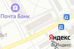 Схема проезда до компании Радуга игрушек в Барнауле