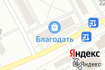 Схема проезда до компании Ангелочки в Барнауле