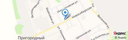 Магазин чая и кофе на карте Барнаула