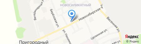 Белорусочка на карте Барнаула