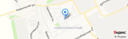 Продукты на карте Барнаула