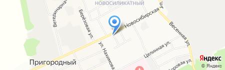 Магазин колбасных изделий и мясной продукции на карте Барнаула