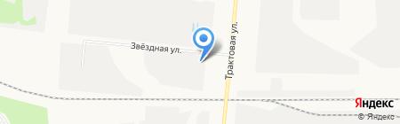 Рентсервис на карте Барнаула
