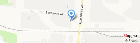 Симба на карте Барнаула