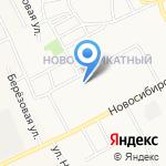 Ручеек на карте Барнаула