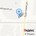 Гидромаш на карте Барнаула