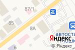Схема проезда до компании Qiwi в Мошково