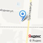 Кировец Р на карте Барнаула