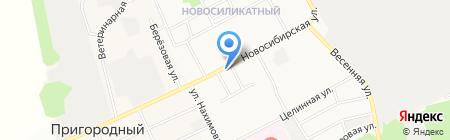 Голле Галла на карте Барнаула