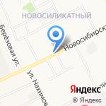 Магазин по продаже рыбы на карте Барнаула