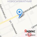 Мобил Сибирь на карте Барнаула