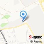 Конти на карте Барнаула