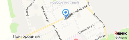 Сладкоежка на карте Барнаула