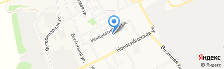 Детский сад №161 на карте Барнаула