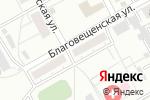 Схема проезда до компании Делия в Барнауле