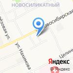 Винтаж на карте Барнаула