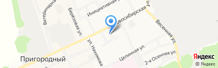 Суши Маркет на карте Барнаула