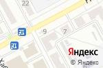 Схема проезда до компании Имидж в Барнауле