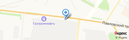Агро-Мастер на карте Барнаула