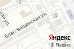 Схема проезда до компании Пивной заКУТок в Барнауле
