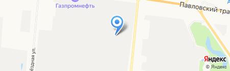 АЛТАЙМОЛСЕРВИС на карте Барнаула
