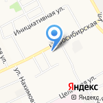 Сим-Сити на карте Барнаула