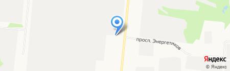 Эталон-Бетон на карте Барнаула