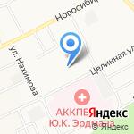 Средняя общеобразовательная школа №118 на карте Барнаула