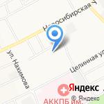 Дружба на карте Барнаула
