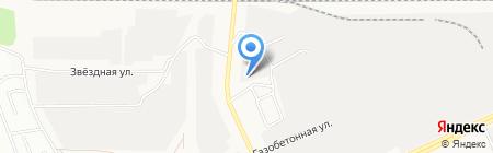 Алтайский источник на карте Барнаула