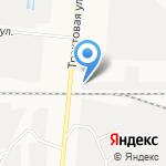 Дискас на карте Барнаула